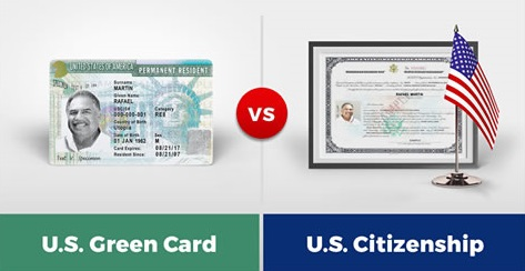 green card outside us